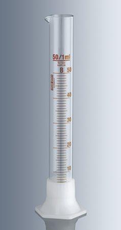 Mérőhenger, műanyag talpas,   10 ml