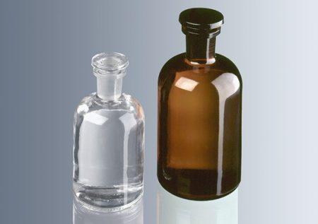 Folyadéküveg, barna   50 ml