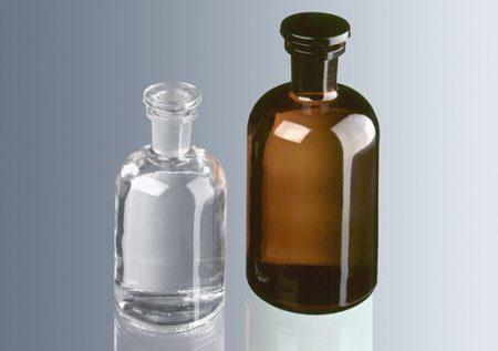 Folyadéküveg, barna 1000 ml