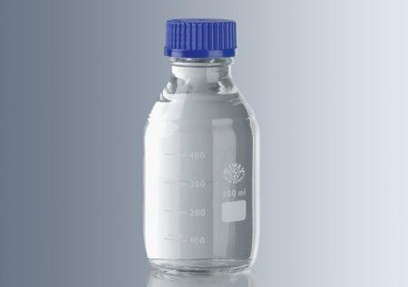 Laborpalack, autoklávozható kupakkal (GL 45),  500 ml
