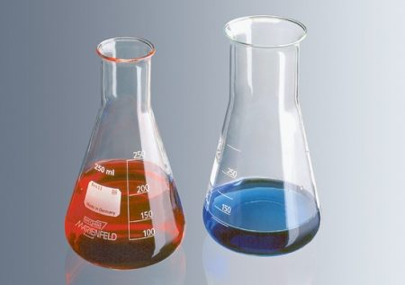Erlenmeyer lombik, bő, 1000 ml