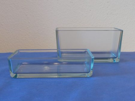 Üvegkád, 200*100*100 mm