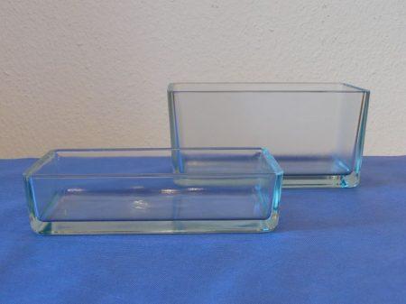 Üvegkád, 250*165*120 mm