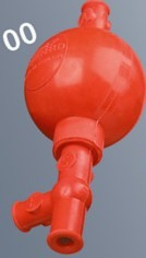 Griffin ballon, 0-20 ml pipettához, 3 szelepes