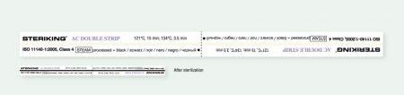 Wipak AC 250/500 (dupla) kémiai indikátor csík