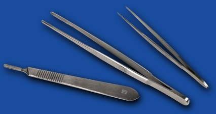 Csipesz, anatómiai, 160 mm, rozsdamentes